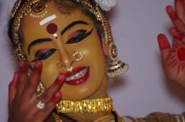 Danseuse de Trivandrum (Inde)