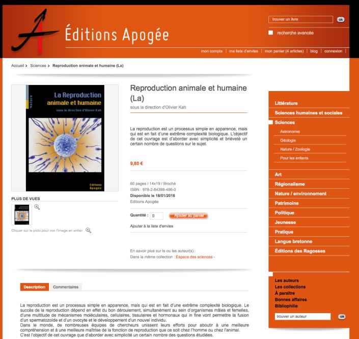 Editions Apogée